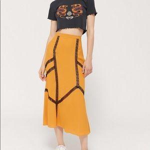 Urban Outfitters Slip Skirt
